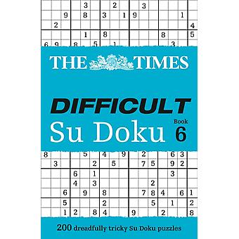 The Times Difficult Su Doku Book 6 (Paperback) by The Times Mind Games