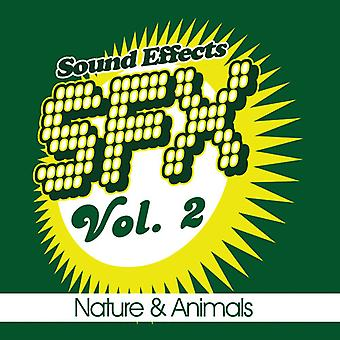 SFX-natur & djur-Vol. 2-Sfx-naturen & djur [CD] USA import