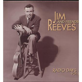 Jim Reeves - Jim Reeves: Vol. 1-Radio dagar [CD] USA import