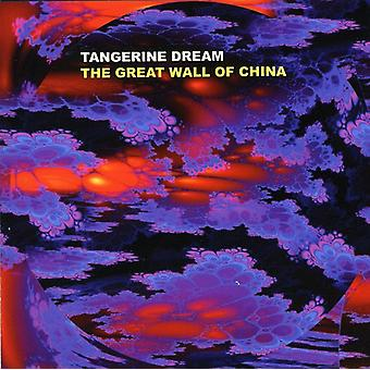 Tangerine Dream - Great Wall of China [CD] USA import