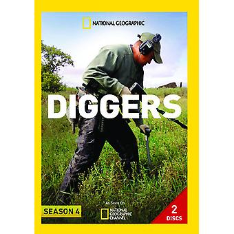 Bagger: Staffel 4 [DVD] USA import