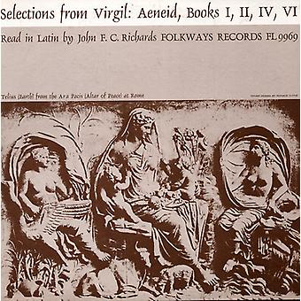 John F.C. Richards - Selections From Virgil-Aeneid: Read in Latin by Jo [CD] USA import
