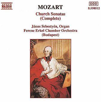 W.a. Mozart - Mozart: Kirche Sonaten (komplett) [CD] USA import