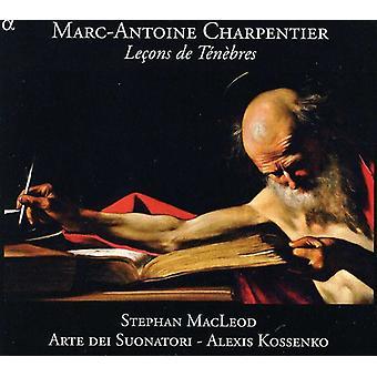 G. Charpentier - Marc-Antoine Charpentier: Le Ons De T N armeringsformål [CD] USA import