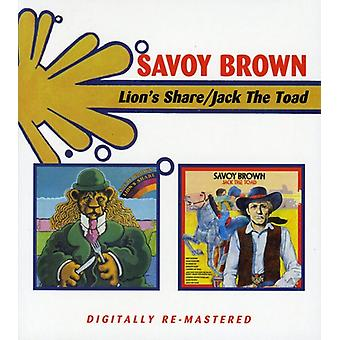 Savoy Brown - Lions Share/Jack the Toad [CD] USA import