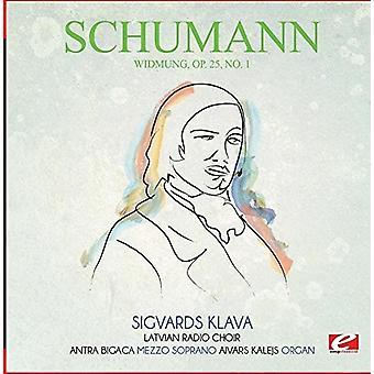 Schumann - Widmung OP. 25 Nr. 1 [CD] USA import