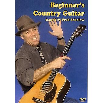Fred Sokolow - Beginner's Country Guitar [DVD] USA import
