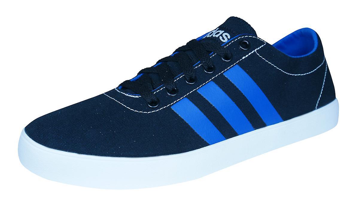 Adidas Neo Easy Vulc VS Mens Trainers   scarpe - nero and blu | Chiama prima  | Maschio/Ragazze Scarpa
