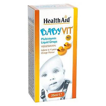 Health Aid Baby Vit Liquid Drops 25Ml Health Aid