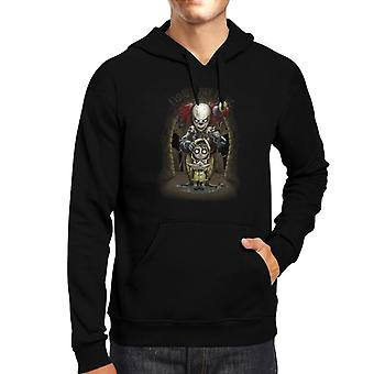 We All Float Down Here It Pennywise Men's Hooded Sweatshirt