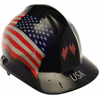 USA Themed Hard Hat
