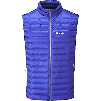Rab Mens Altus Vest Electric/Zinc (Medium)