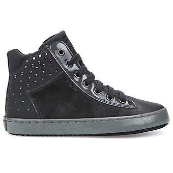 Geox Girls Kalispera J744GE Boots Grey