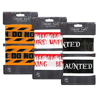 Halloween Party Warning Danger Tape Banner 6M Haunted Party Decoration