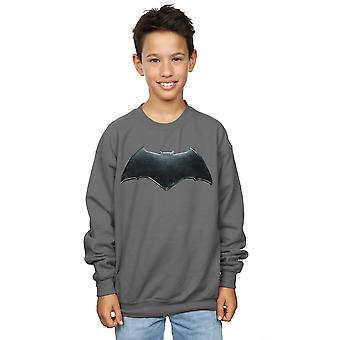 DC Comics pojkar Justice League film Batman Emblem Sweatshirt