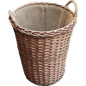 Somerset Tall Log Basket with Lining