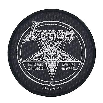 Veleno In League With Satan tessuto Patch