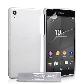 Yousave Zubehör Sony Xperia Z4 kompakte 0,6 mm Gel Gehäuse - Clear