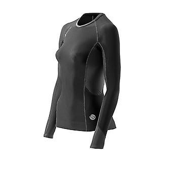 SKINS S400 Women's Thermal Long Sleeve Compression Top [black]