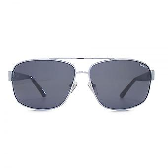 Levis Metal Square Sonnenbrille In Silber