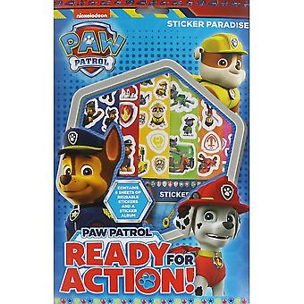 Nickelodeon Paw Patrol Sticker Paradise Childrens Activity Gift