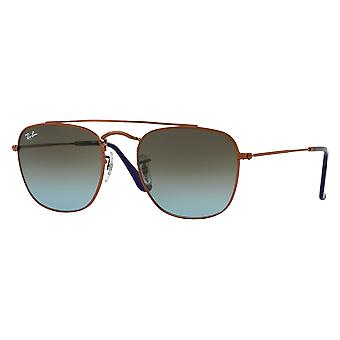 Ray-Ban RB3557 Medium Bronze Bleu Dégradé Brun