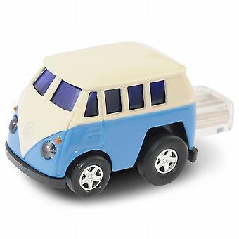 VW Camper Van Computer USB Memory Stick 8Gb - Blue