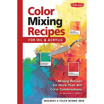 Walter Foster Creative Books Color Mixing Recipes Wfc 47868
