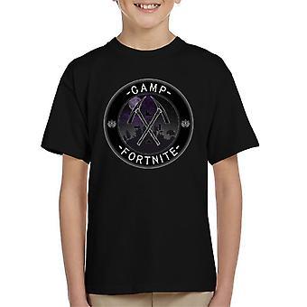 Campamento t-shirt para Fortnite niños