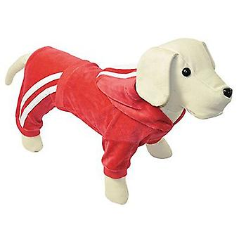 Nayeco Red Velvet Chandal dog 45 cm (Dogs , Dog Clothes , Sweaters and hoodies)