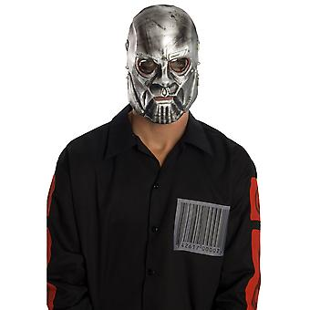 Slipknot Sid Heavy Metal Band Licensed Latex Halloween Men Costume 1/2 Mask
