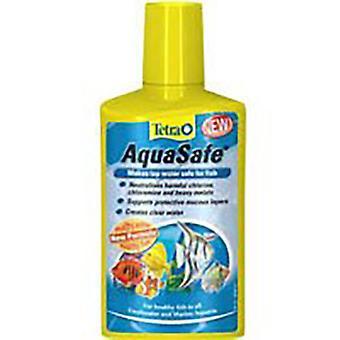 魚の水槽テトラ アクアの安全な水のコンディショナー