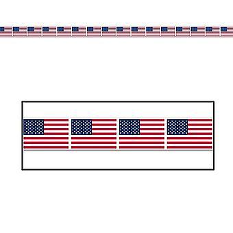 Flaga Amerykańska Strona taśmy 3