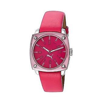 PUMA relógio pulseira relógio senhoras sombra escura rosa PU102592002 analógico