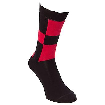 40 Colori Racing Socks - Black/Red