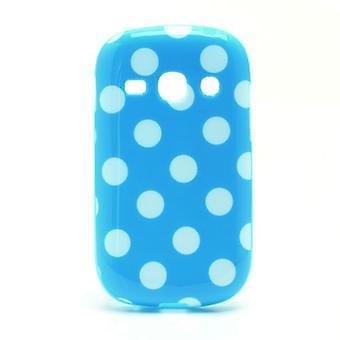 Schutzhülle für Handy Samsung Galaxy Fame S6810 Hellblau