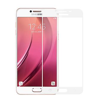 Samsung Galaxy J7 2016 3D armoured glass foil display 9 H protective film covers case white