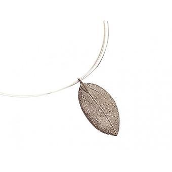 Halskæde sølv rose halskæde BRIANNA rose petal halskæde 925 sølv