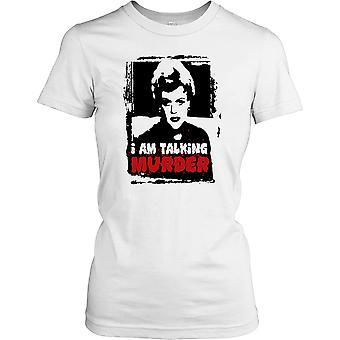 Mówię morderstwo - morderstwo napisała Panie T Shirt