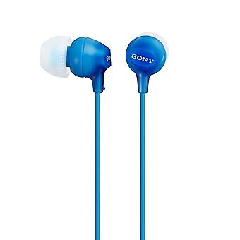 Sony MDR-EX15LPL Blue Portable Earbuds Fashion Colour Earphone/Headphone