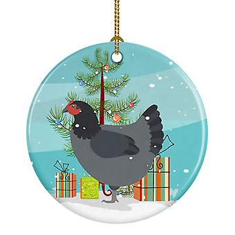 Carolines skatter BB9202CO1 Jersey gigantiske kylling Christmas keramiske Ornament