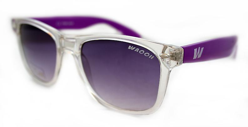 Waooh - sun glasses 0035 - Mount Clear & Color - Protection UV400 Category 3 - Sunglasses