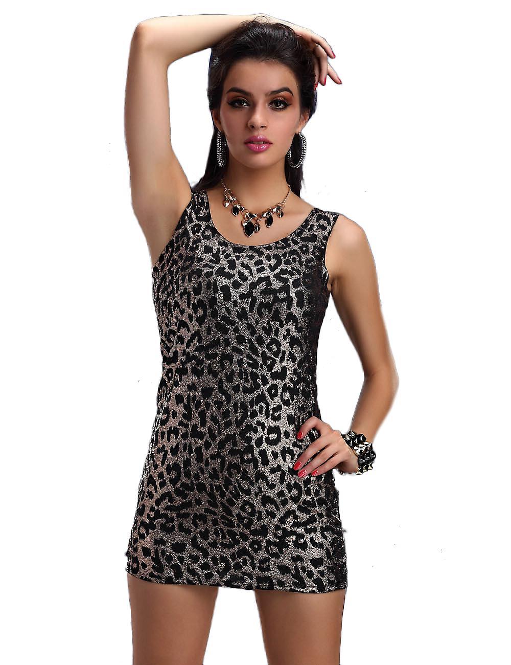 Waooh - Mode - Robe courte sexy léopard