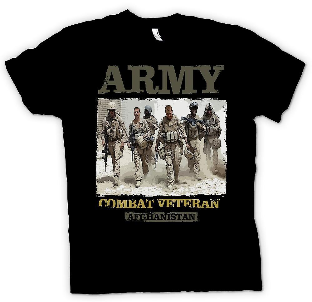 T-shirt - veterano di combattimento dell'esercito - Afghanistan