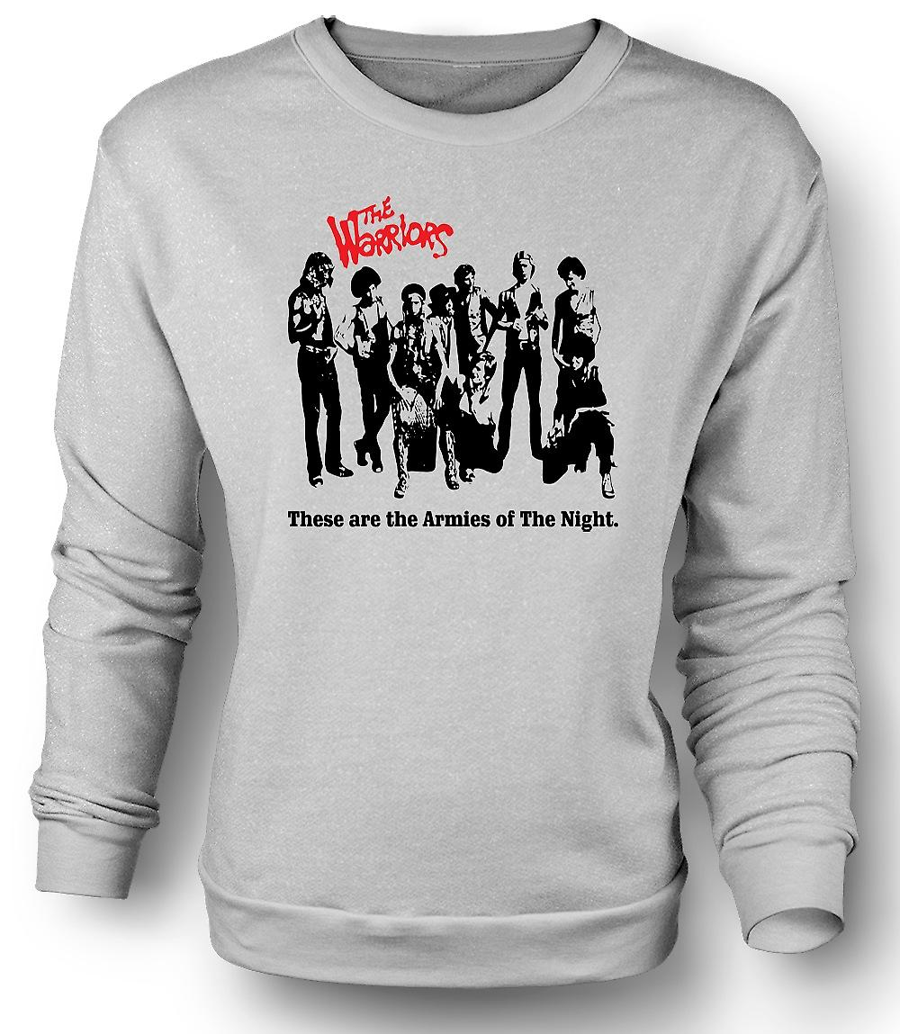 Mens Sweatshirt The Warriors - New York - Gangs