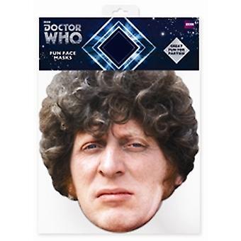 Tom Baker-Arzt, der Karten-Gesichtsmaske (der vierte Doktor)