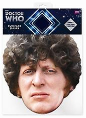 Tom Baker Doctor Who Card Face Mask (The Fourth Doctor)