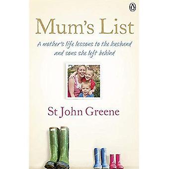 Liste de maman