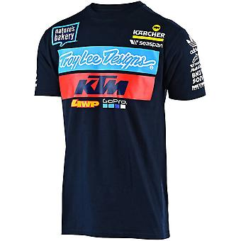 Troy Lee Designs KTM Navy Team Kids T-Shirt