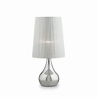 Ideale Lux - eeuwigheid grote Chrome tafel Lamp IDL036007